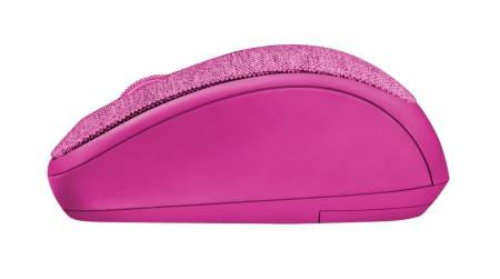 TRUST Yvi Fabric Wireless Mouse - pink