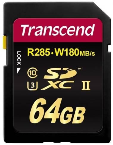 Transcend 64GB SDXC Class3 UHS-II Card