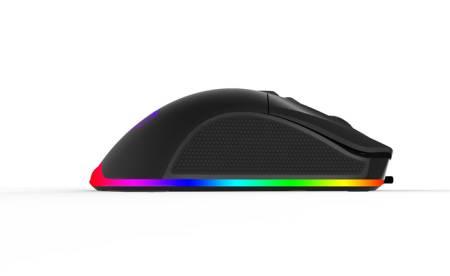 Геймърска USB мишка Delux M626 с RGB подсветка