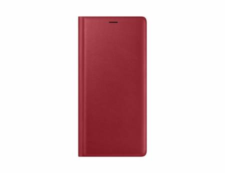 Samsung Note 9 N960 Leather View Cover Red