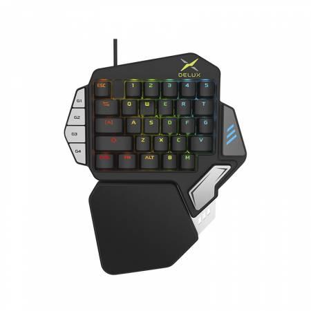 Клавиатура за една ръка DELUX T9X