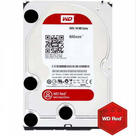 Твърд диск WD 1TB SATAIII Red 64MB WD10EFRX