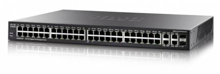 Cisco SG350-52P 52-port Gigabit PoE Managed Switch