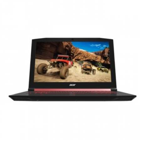 """NB Acer Nitro 5 AN515-52-73UW/15.6"""" IPS FHD Acer ComfyView Matte 144Hz /Intel® i7-8750H/NVIDIA GeForce GTX 1050Ti 4GB GDDR5/1x8GB DDR4 /1000GB+(m.2 slot SSD free NVMe)/No ODD/Backlit Keyboard /LINUX/Matte black chassis red accents  NITRO 5 AN515-52-73UW/"""
