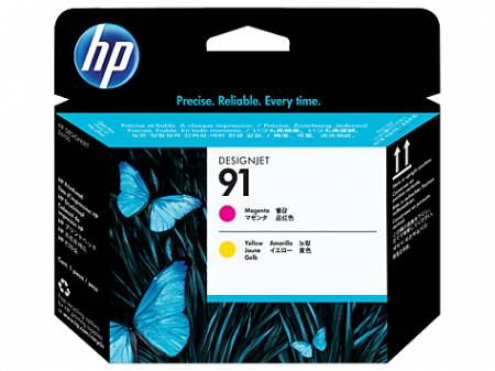 Консуматив HP 91 Printhead/91 Magenta/Yellow Original Ink Cartridge Value Pack