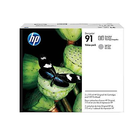 Консуматив HP 91 Printhead/91 Photo Black/Light Gray Original Ink Cartridge Value Pack