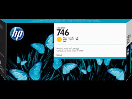 Консуматив HP 746 300-ml Yellow DesignJet Ink Cartridge