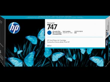 Консуматив HP 747 300-ml Chromatic Blue DesignJet Ink Cartridge