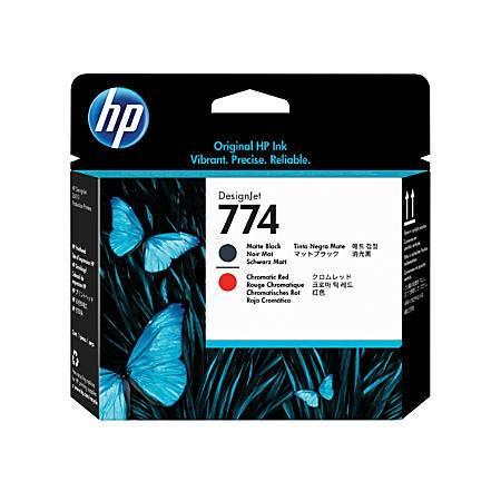 Консуматив HP 774 Matte Black/Chromatic Red Printhead