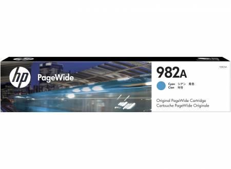Консуматив HP 982A Cyan Original PageWide Cartridge