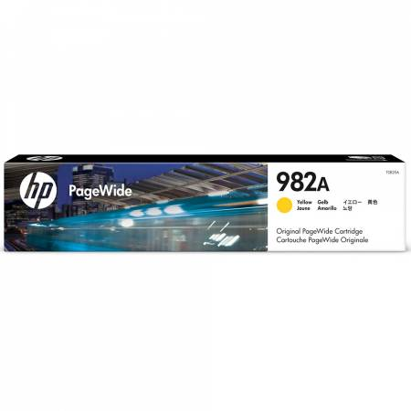 Консуматив HP 982A Yellow Original PageWide Cartridge