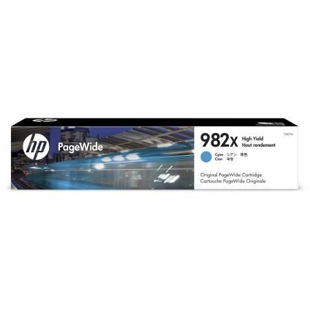 Консуматив HP 982X High Yield Cyan Original PageWide Cartridge