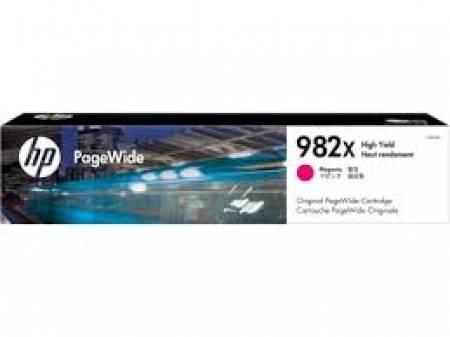 Консуматив HP 982X High Yield Magenta Original PageWide Cartridge