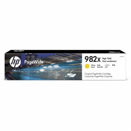 Консуматив HP 982X High Yield Yellow Original PageWide Cartridge