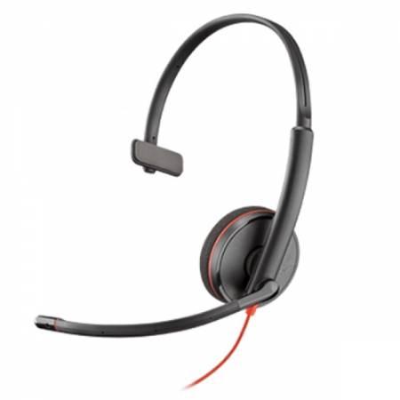 Слушалка с микрофон Plantronics Blackwire C3210 Mono USB-A