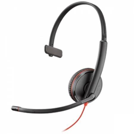 Слушалка с микрофон Plantronics Blackwire C3215 Mono USB-A