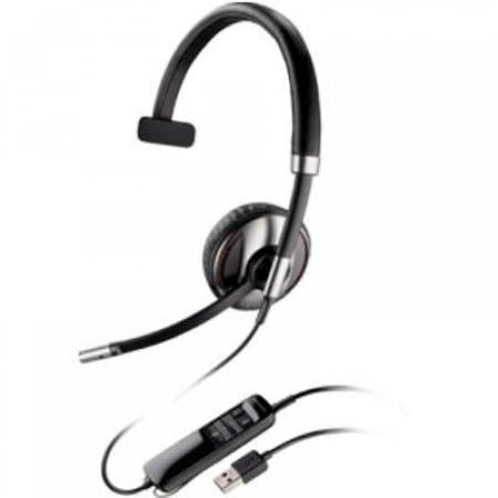 Слушалка с микрофон Plantronics Blackwire C710 Mono USB-A