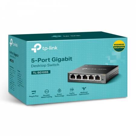 5-портов гигабит комутатор TPLink TL-SG105S