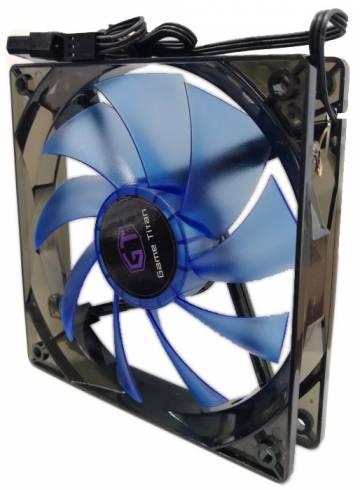 Охладител за кутия DELUX CF4 120 мм BLUE LED