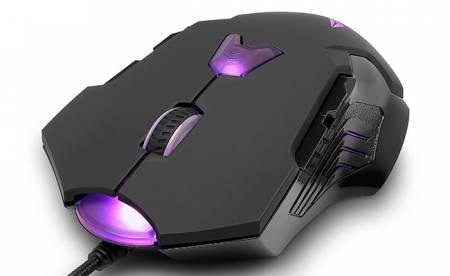 Мишка DELUX M811LU USB Лазерна 3=4