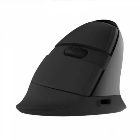 Безжична/Bluetooth вертикална мишка DELUX M618mini черен цвят