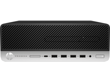 HP ProDesk 600 G4 SFF PC Intel Core i3-8100 3.6 4C 65W 4GB (1x4GB) DDR4 2666 500GB 7200 3.5 KBD MUS Win 10 Pro 64