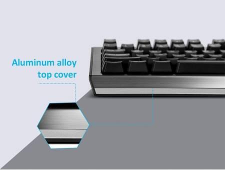 Геймърска USB кабелна клавиатура DELUX KM9036