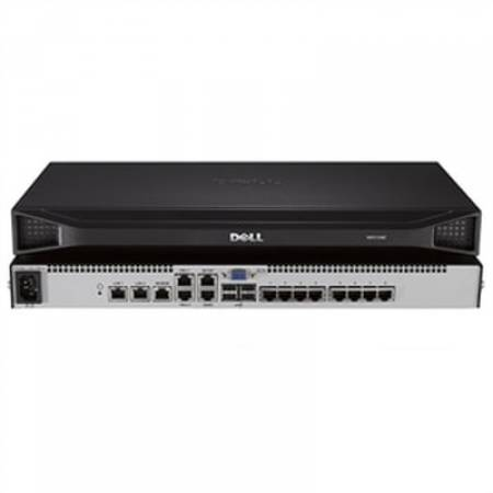 Dell 8-port remote KVM switch with one remote