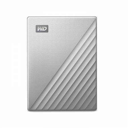 HDD 1TB USB-C MyPassport Ultra Silver (3 years warranty) NEW