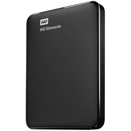 Твърд диск външен WD Elements Portable 1TB USB 3.0 WDBUZG0010BBK-WESN