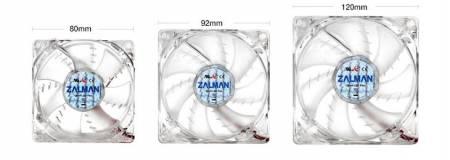 Oхладител за кутия Zalman ZM-F1 SF Син 80 мм