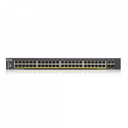 ZyXEL XGS1930-52HP Smart Managed Switch with 4 SFP+ Uplink