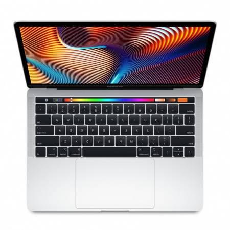 """Apple MacBook Pro 13"""" Touch Bar/QC i5 1.4GHz/8GB/128GB SSD/Intel Iris Plus Graphics 645/Silver - INT KB"""