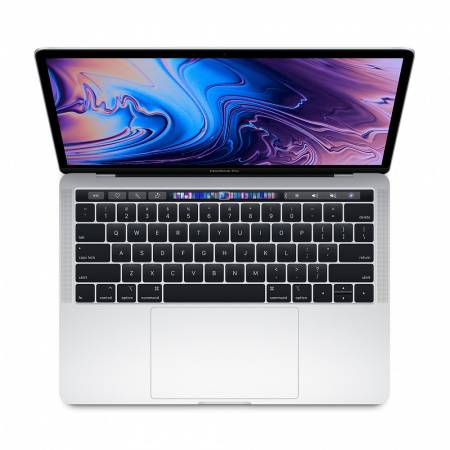 "Apple MacBook Pro 13"" Touch Bar/QC i5 1.4GHz/8GB/256GB SSD/Intel Iris Plus Graphics 645/Silver - INT KB"