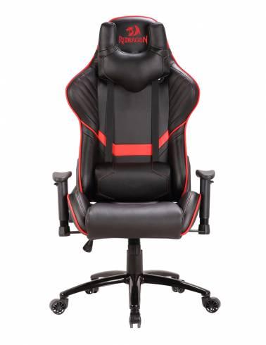 Геймърски стол Redragon Coeus C201-BR черно-червен