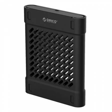 Силиконово защитно калъфче за 2.5-инчови HDD/SSD Orico PHS-25-BK в черен цвят