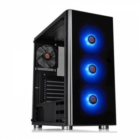 Кутия за настолен компютър със закалено стъкло Thermaltake V200 RGB