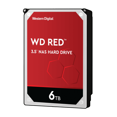 HDD 6TB SATAIII WD Red 256MB for NAS (3 years warranty)