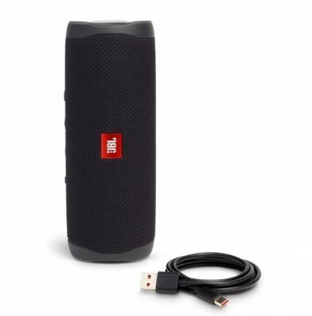 JBL FLIP5 BLK waterproof portable Bluetooth speaker