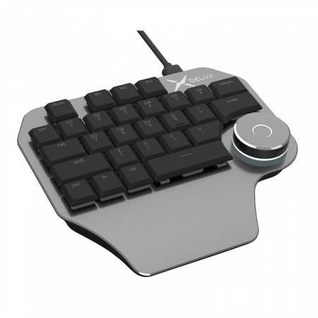 Дизайнерска клавиатура Delux Designer T11 сив цвят