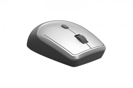 Безжична оптична мишка Delux M330GX сребриста