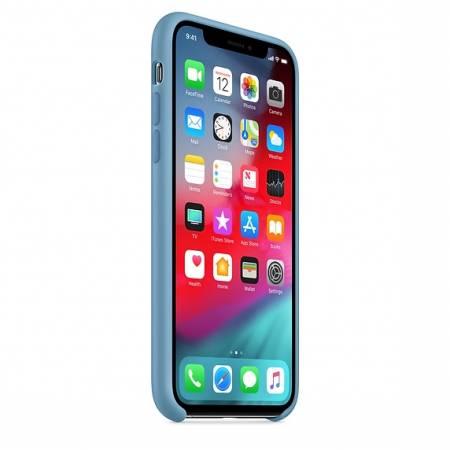 Apple iPhone XS Silicone Case - Cornflower   (Seasonal Summer2019)