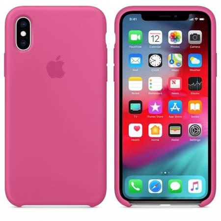 Apple iPhone XS Silicone Case - Dragon Fruit   (Seasonal Summer2019)