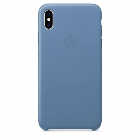 Apple iPhone XS Max Leather Case - Cornflower (Seasonal Spring2019)