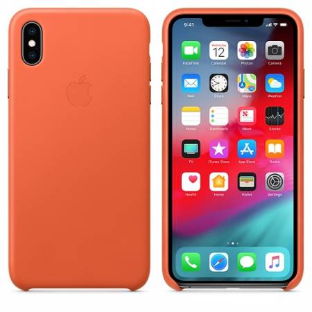 Apple iPhone XS Max Leather Case - Sunset (Seasonal Spring2019)