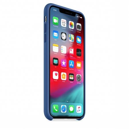 Apple iPhone XS Max Silicone Case - Delft Blue (Seasonal Spring2019)