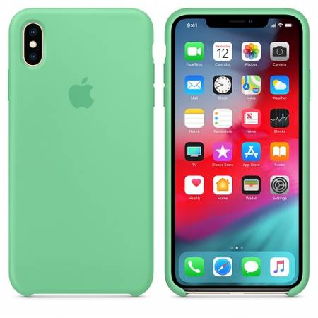 Apple iPhone XS Max Silicone Case - Spearmint (Seasonal Spring2019)