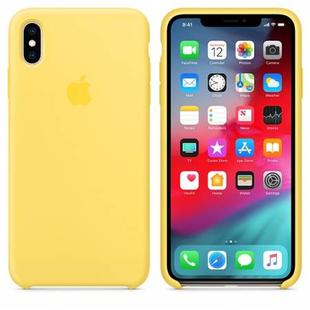 Apple iPhone XS Max Silicone Case - Canary Yellow   (Seasonal Summer2019)