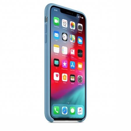 Apple iPhone XS Max Silicone Case - Cornflower   (Seasonal Summer2019)