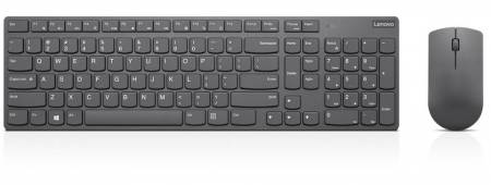 Lenovo Professional Ultraslim Wireless Combo Keyboard and Mouse- US Euro